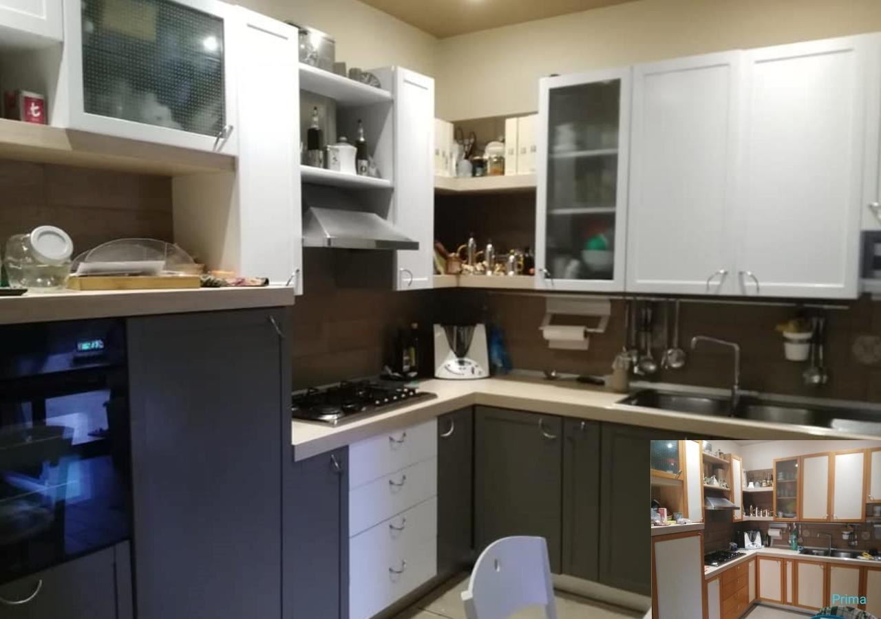 cucina ante laminato dipinte che vernice gesso autentico paint